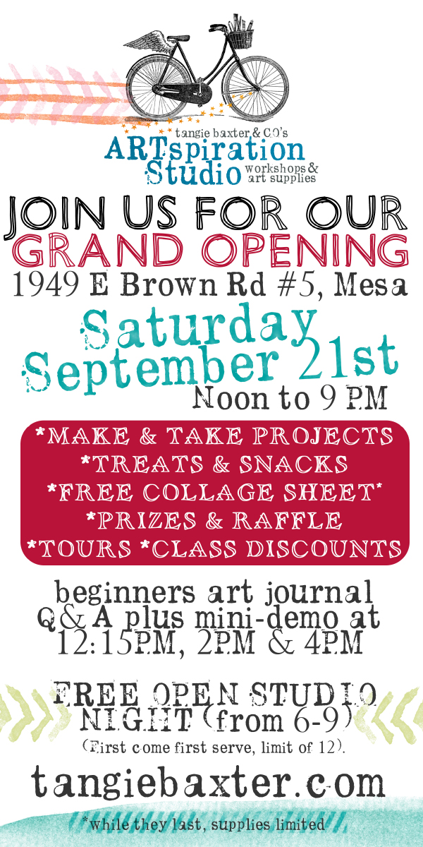 Grand Opening Artspiration Studio