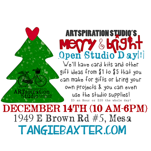 Merry and Bright Open Studio Day