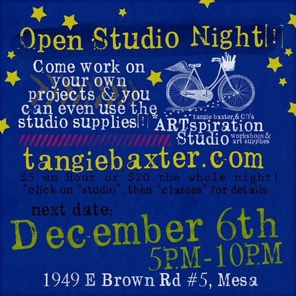 Open Studio Night!