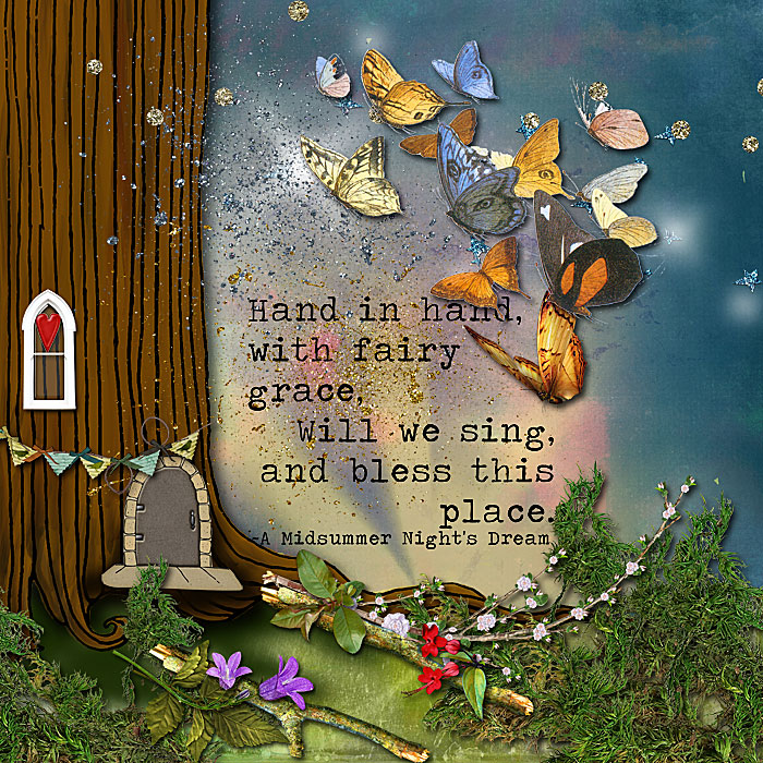 Fairy Home by Julie Ann Shahin