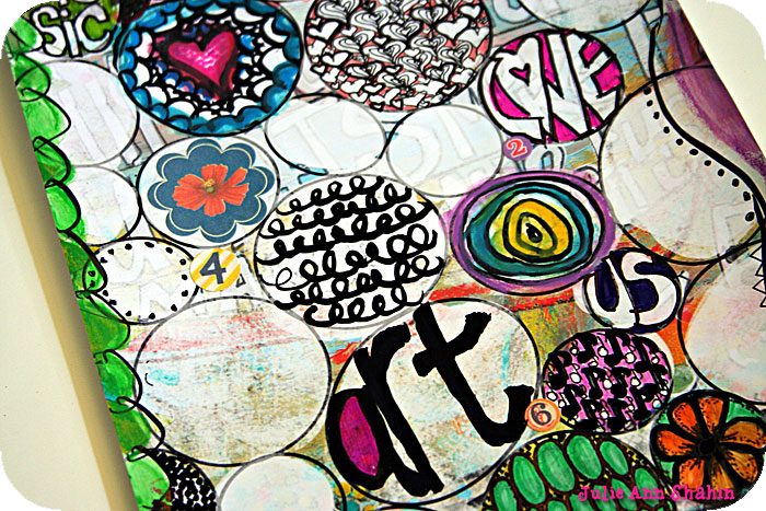 Doodles Closeup by Julie Ann Shahin