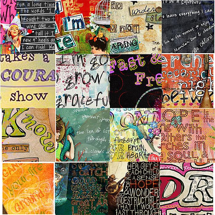 art journaling 101 creative use of typography in digi art journaling studio tangie