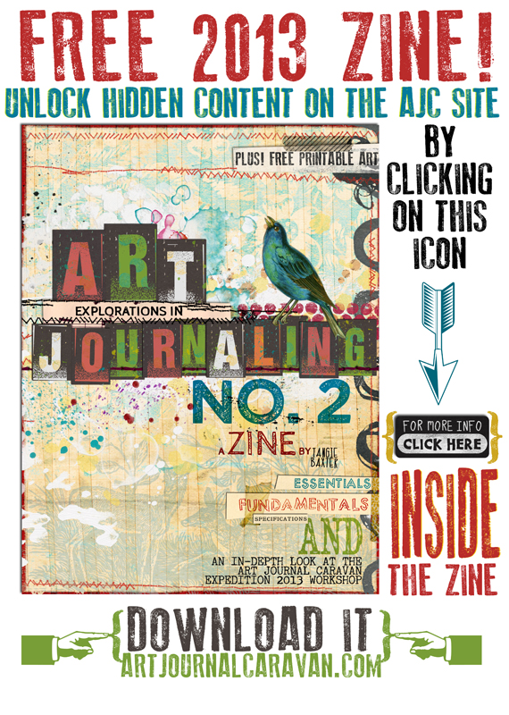 FREE ART JOURNALING ZINE