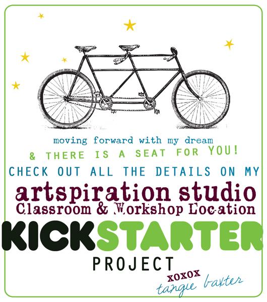 Tangie Artspiration Studio Kickstarter