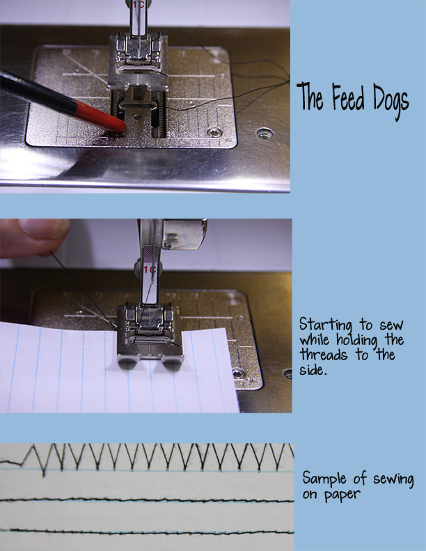 Sewing 101:  Feed Dogs, Tangie Baxter's Blog