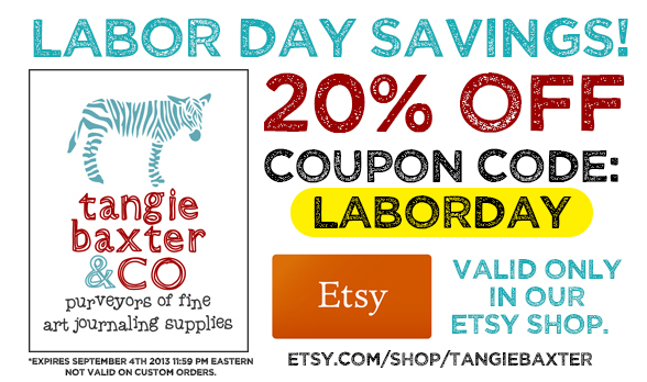 Labor Day Sale--Tangie Baxter & CO Etsy Shop