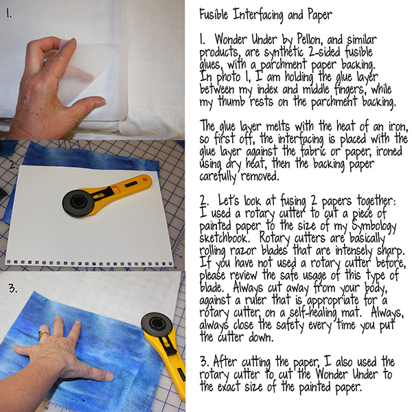 Lesson 2: Fusible Interfacing for Tangie Baxter's blog